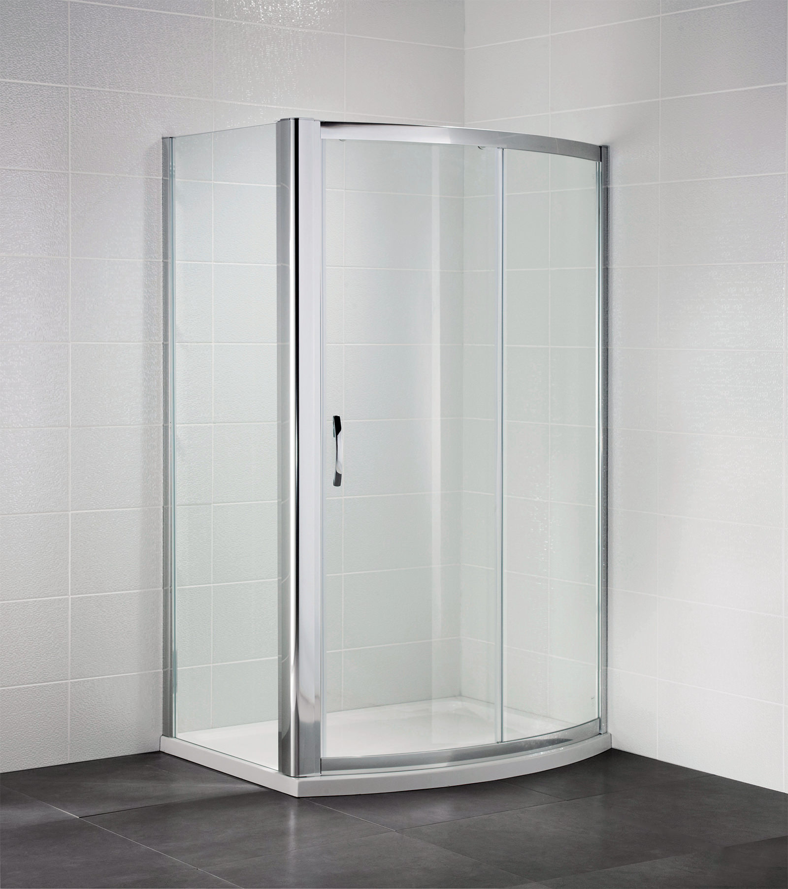 April identiti2 1200mm bow fronted sliding shower door for 1200mm shower door sliding
