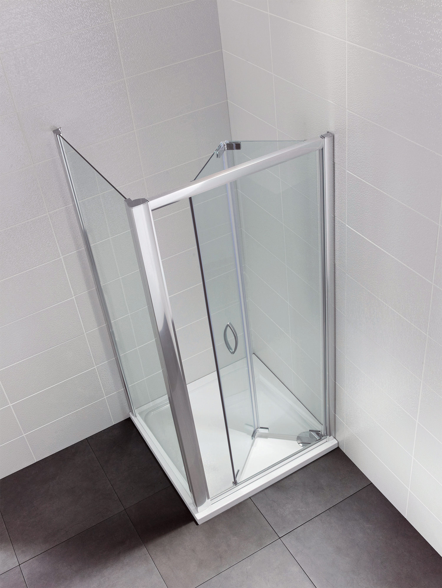 Bi Fold Door Shower Enclosures In Fold Shower Doors Qs Supplies
