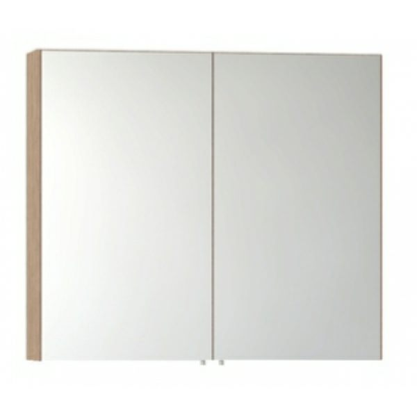 Vitra s50 classic 1000mm oak 2 door mirror cabinet 58283 for Bathroom mirror cabinets 900mm and 1000mm