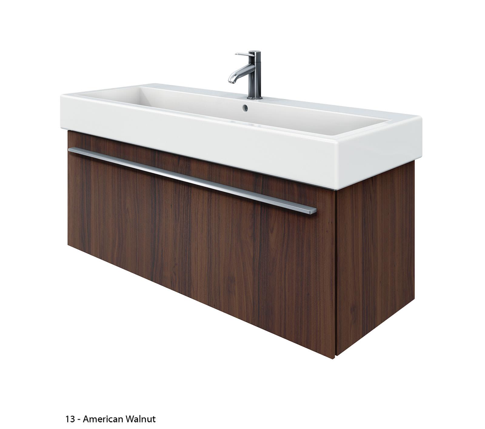 Duravit x large 1150mm vanity unit with 1200mm vero - Duravit bathroom furniture uk ...