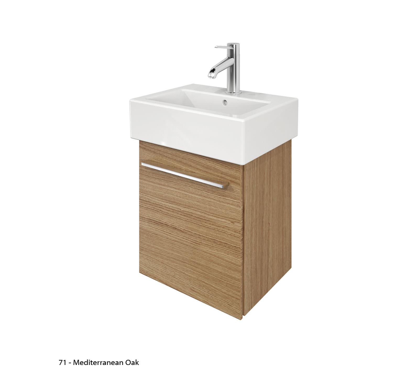 Duravit x large 400mm vanity unit and 450mm vero basin - Duravit bathroom furniture uk ...