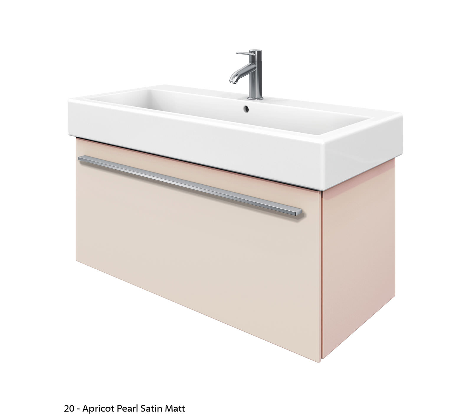 Duravit X Large 950mm Vanity Unit With 1000mm Vero Washbasin Xl6046