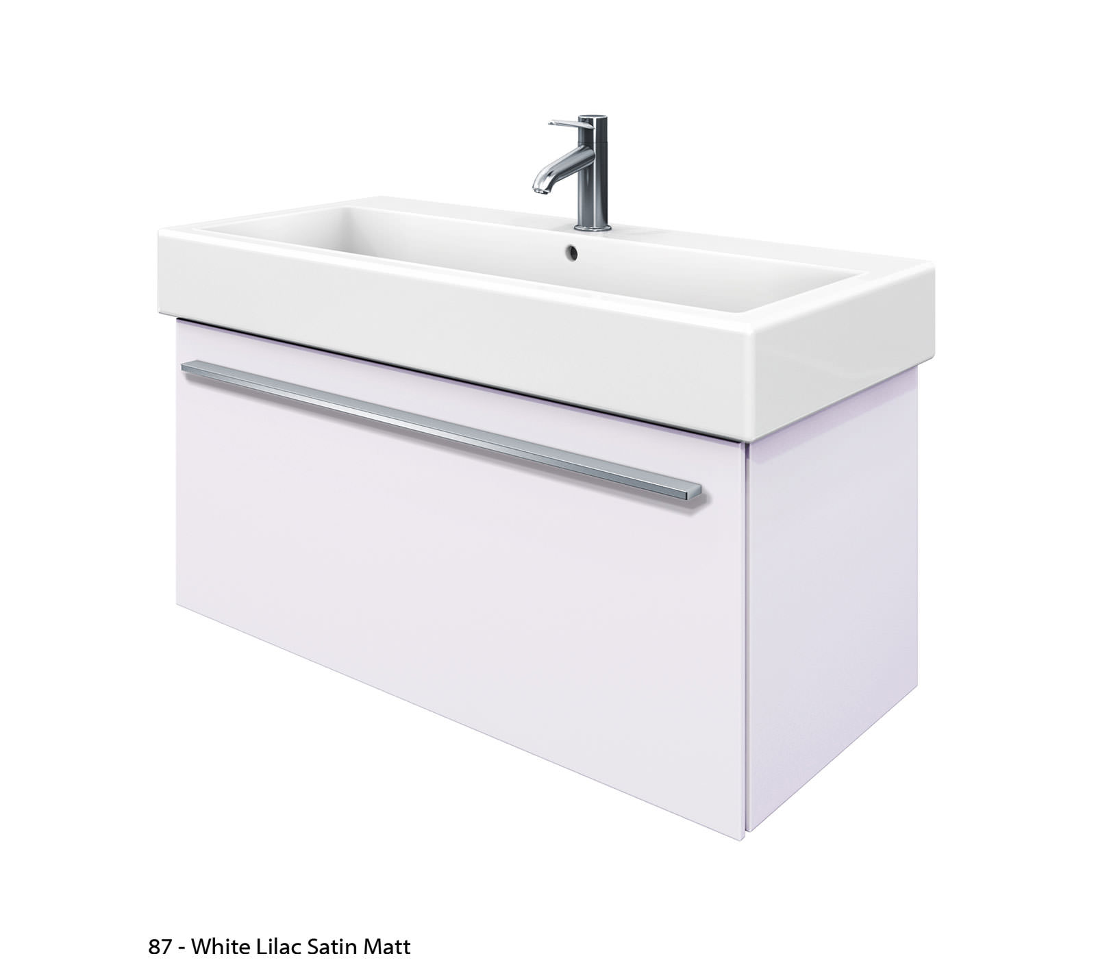 duravit x large 950mm vanity unit with 1000mm vero washbasin xl6046. Black Bedroom Furniture Sets. Home Design Ideas
