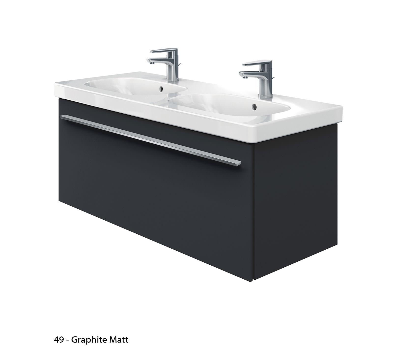 duravit x large 1150mm vanity unit with 1200mm d code. Black Bedroom Furniture Sets. Home Design Ideas