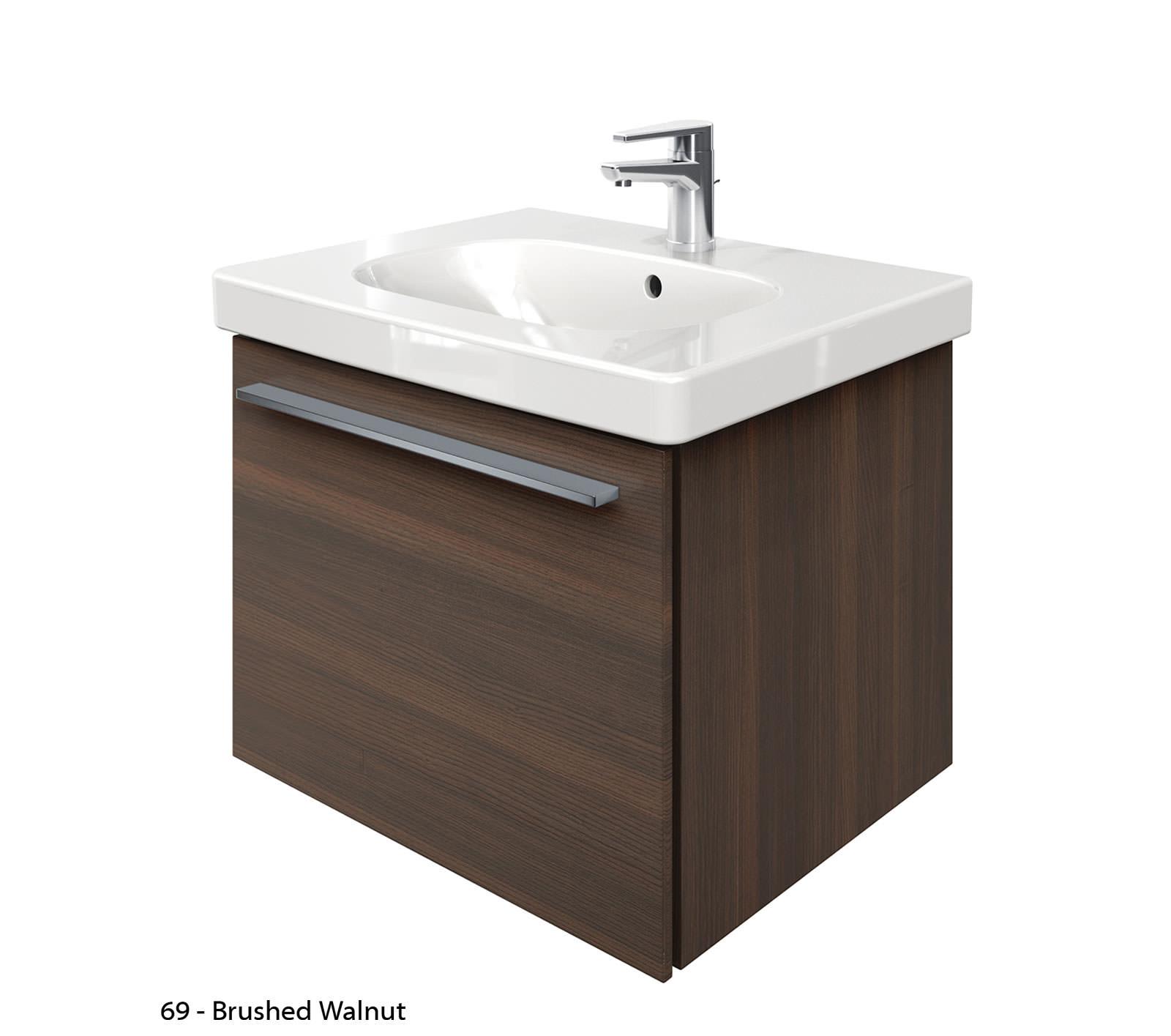 duravit x large 600mm vanity unit with 650mm d code washbasin xl605101818. Black Bedroom Furniture Sets. Home Design Ideas