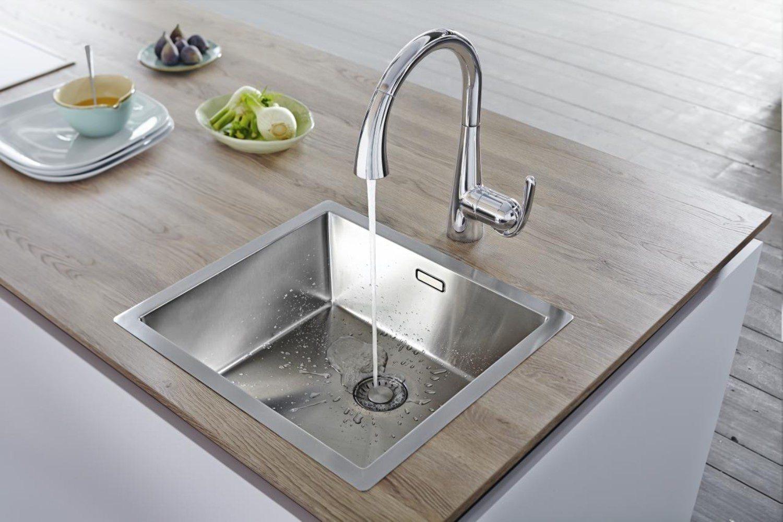 Grohe Zedra Kitchen Sink Mixer Tap Chrome - 32294001