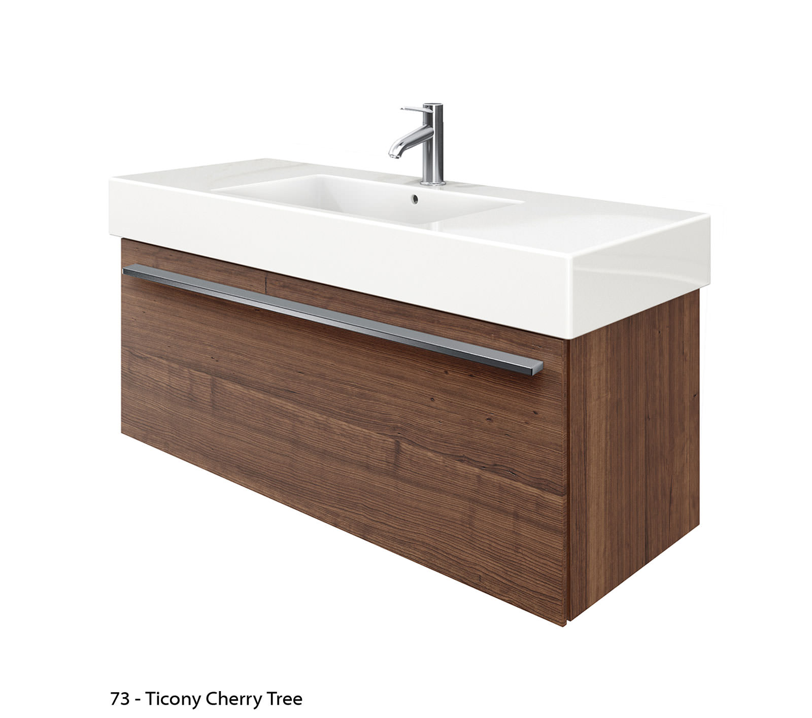 Duravit X Large 1200mm Vanity Unit With 1250mm Vero Washbasin Xl605401818
