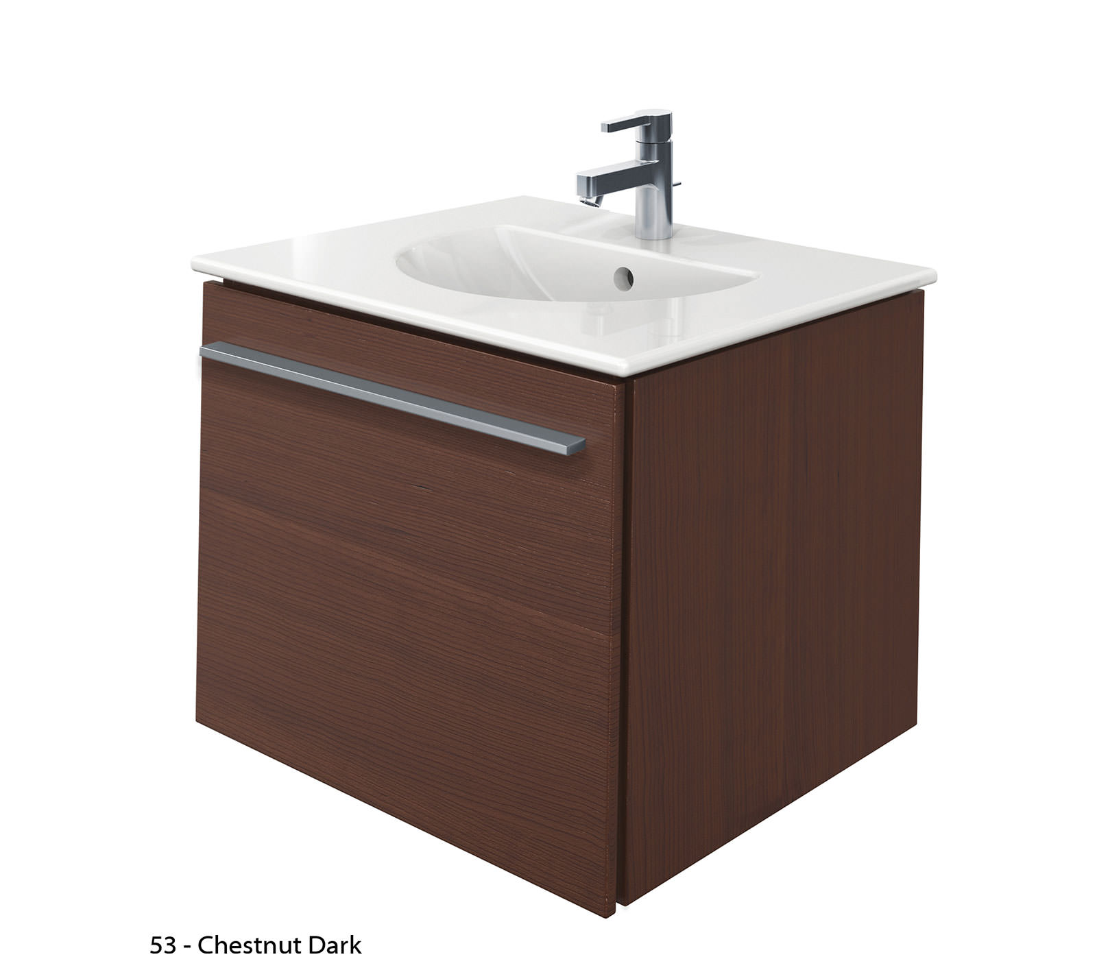 Duravit X-Large 600mm Vanity Unit With 630mm Darling New ...