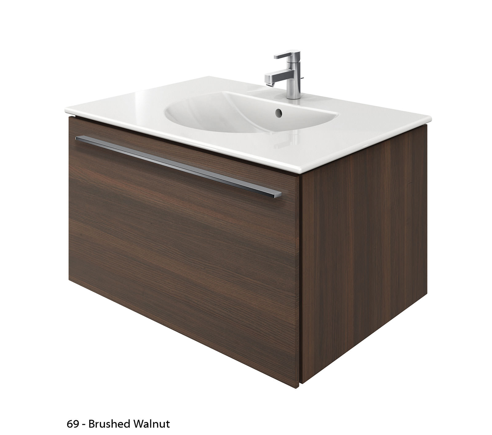 Duravit x large 800mm vanity unit with 830mm darling new - Duravit bathroom furniture uk ...