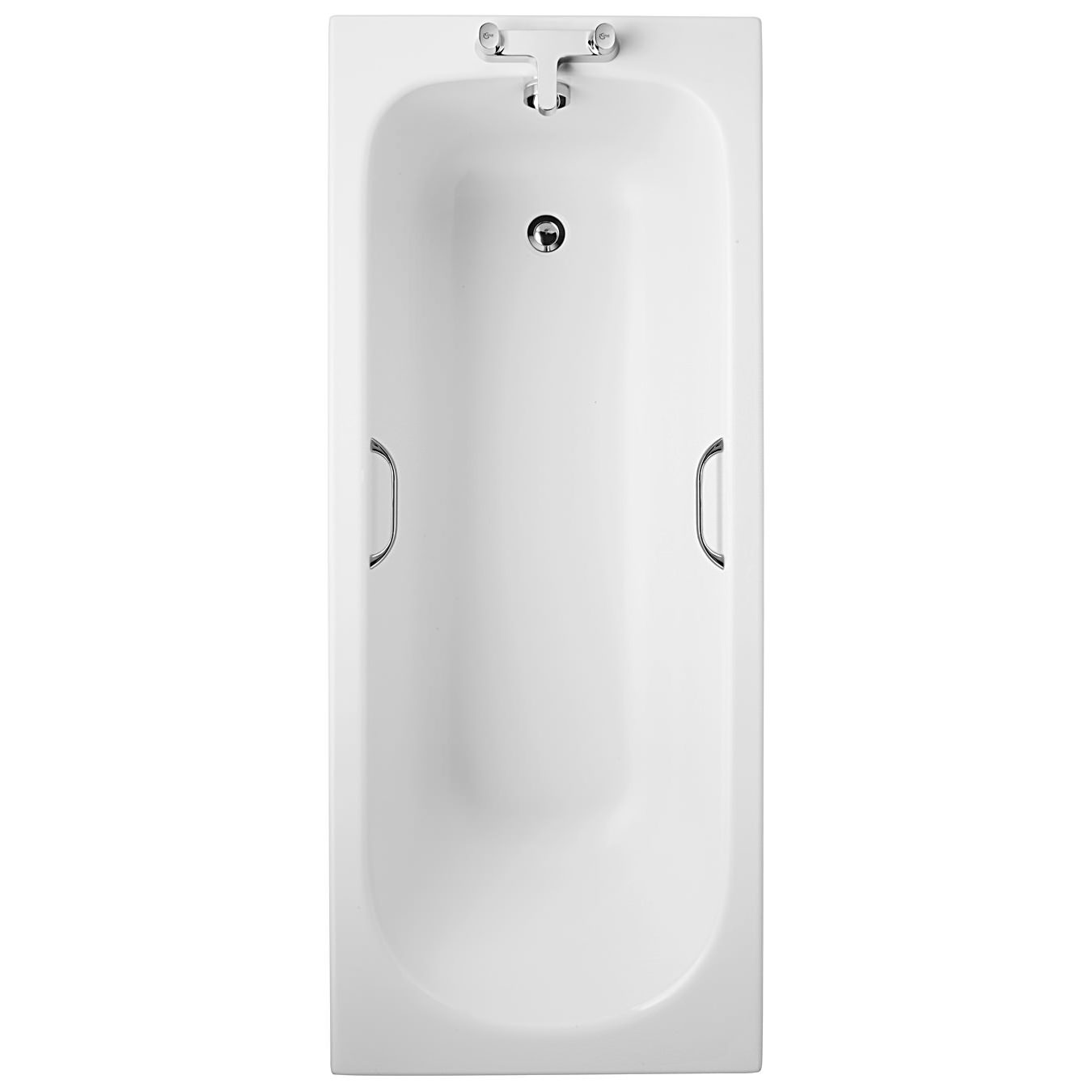 Ideal Standard Alto CT 1700 x 700mm Idealform Bath With Handgrips