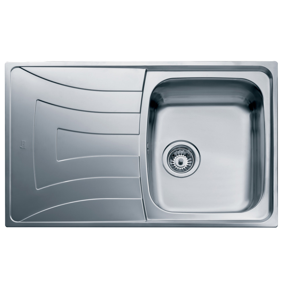 Teka Universo 1b 1d 79 Stainless Steel Inset Sink Ctk1054box