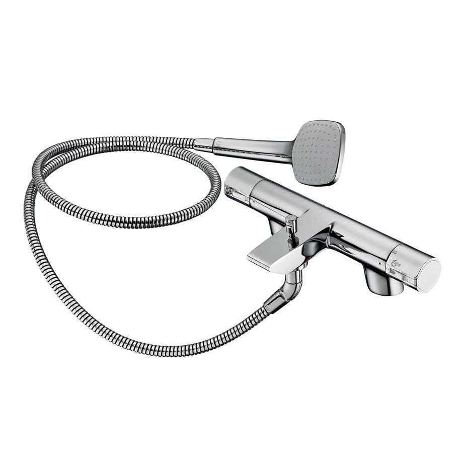 ideal standard active thermostatic bath shower mixer tap