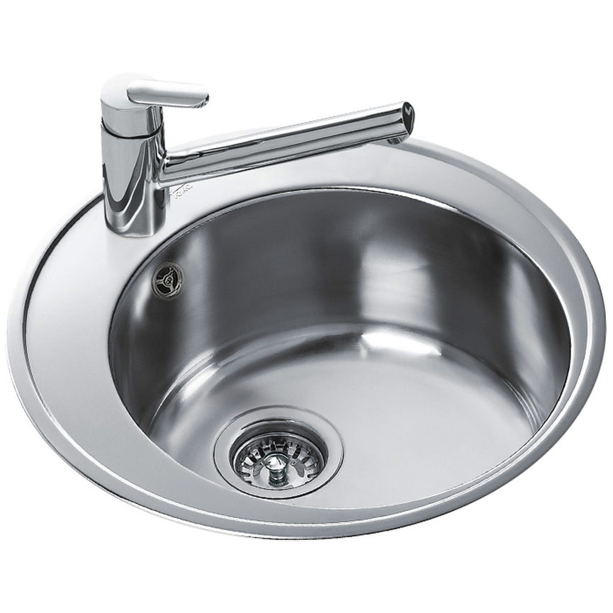 Teka Centroval 45 Stainless Steel 1 0 Bowl Round Inset