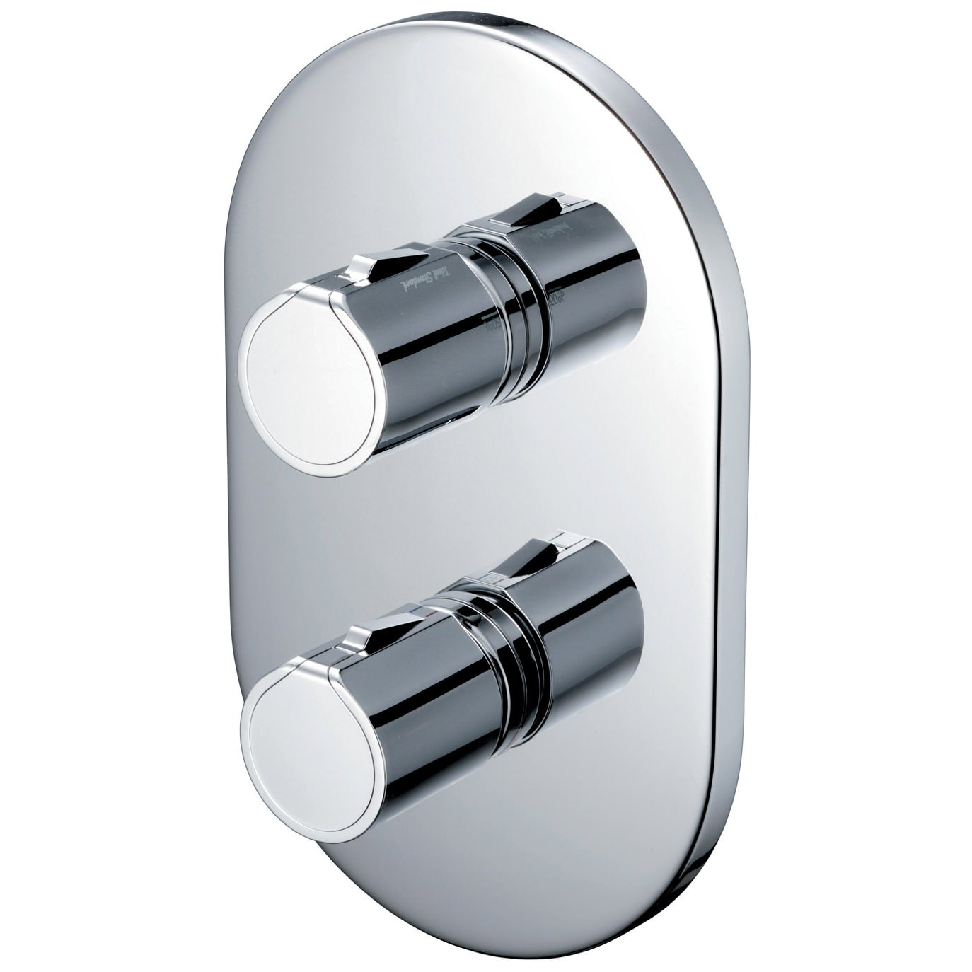 Ideal Standard Active Faceplate And Handles For Shower Valve