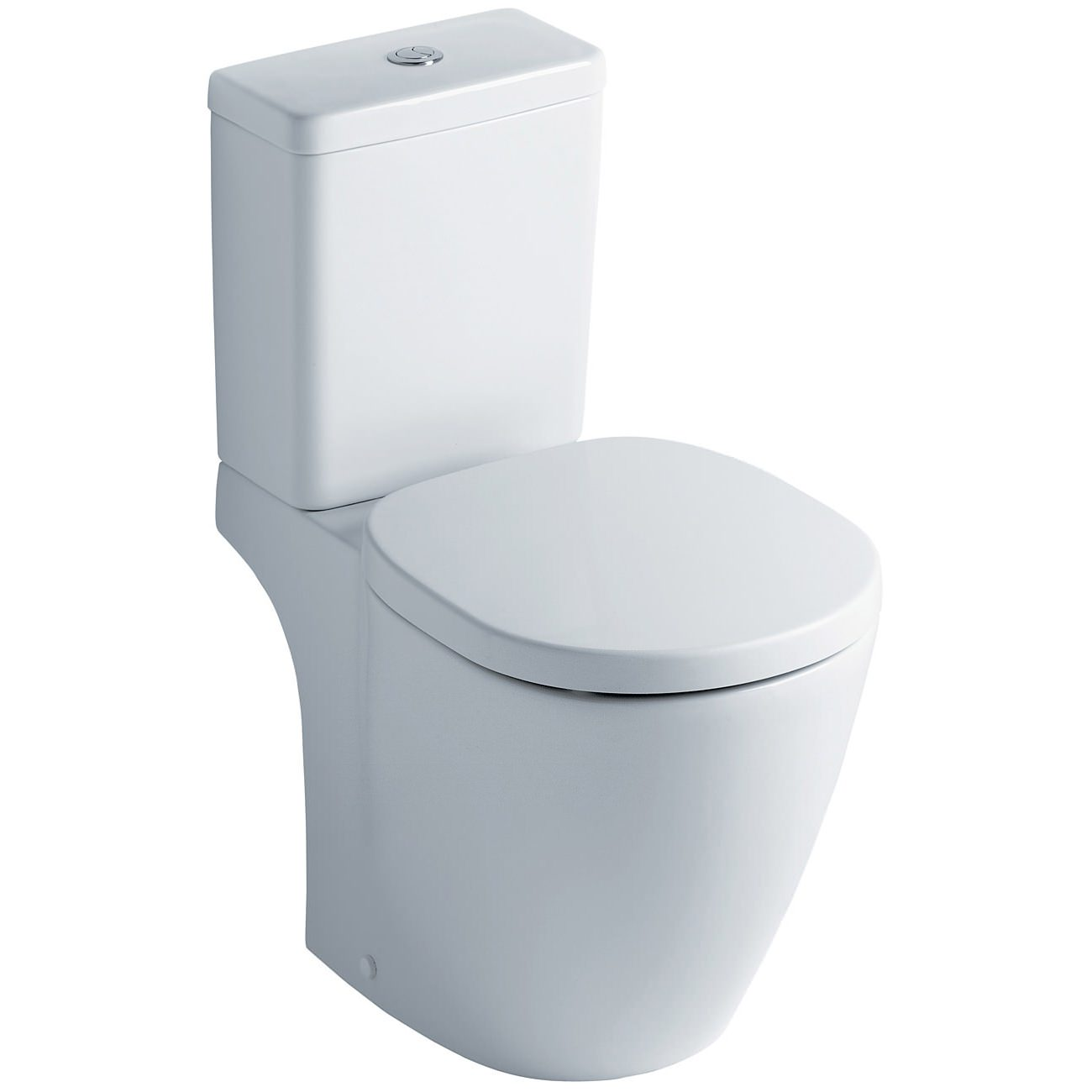 Ideal standard concept cube close coupled wc pan and for Lunette wc ideal standard
