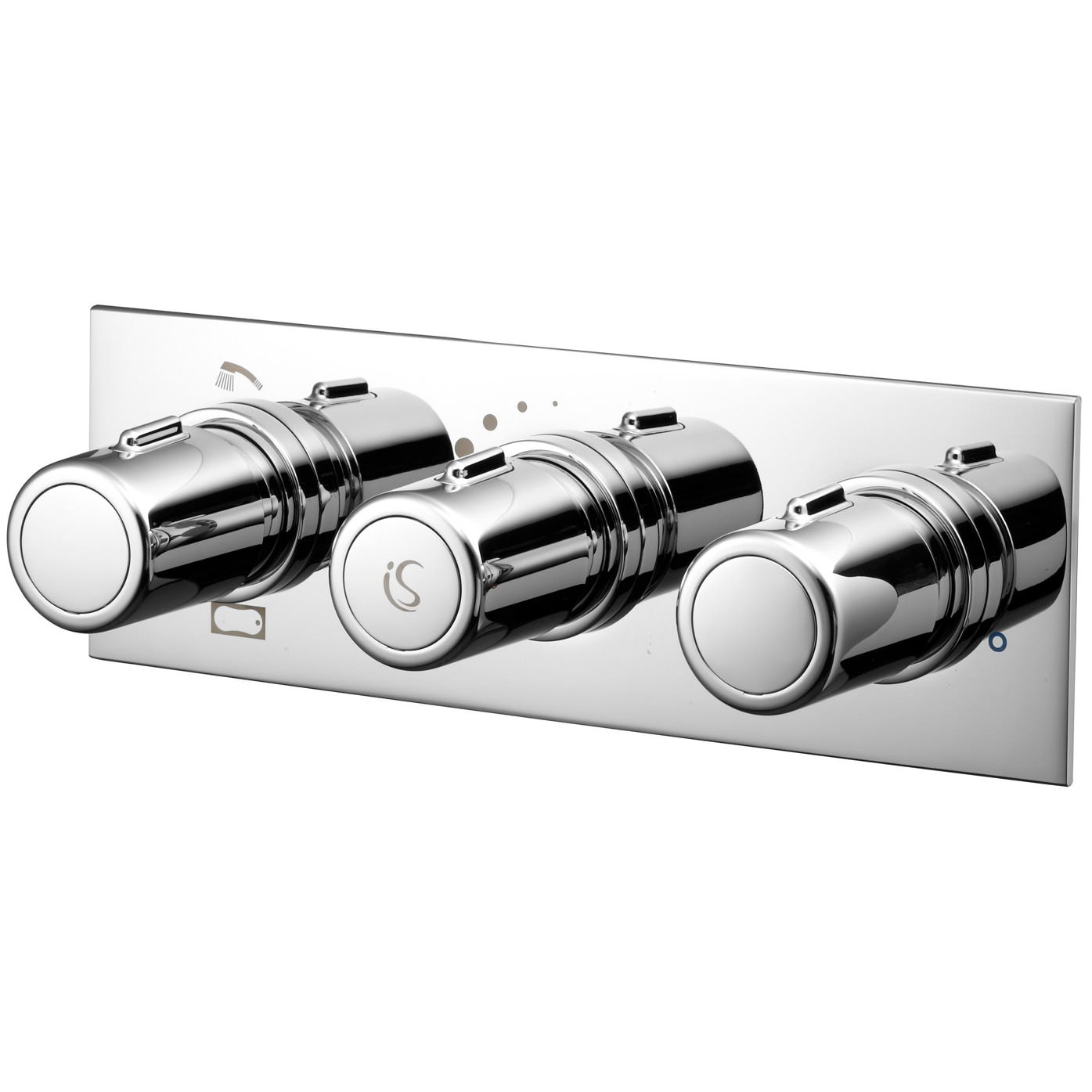 Ideal Standard Attitude 3 Control 2 Way Outlet Thermostatic Shower Valve ...