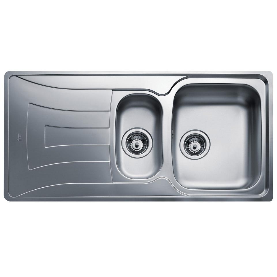 Teka Universo 1 5b 1d Stainless Steel Inset Sink Ctk1058box