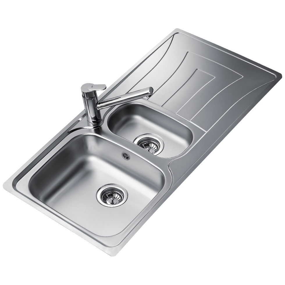 Teka Universo 1 5b 1d Stainless Steel Inset Sink Ctk1058box