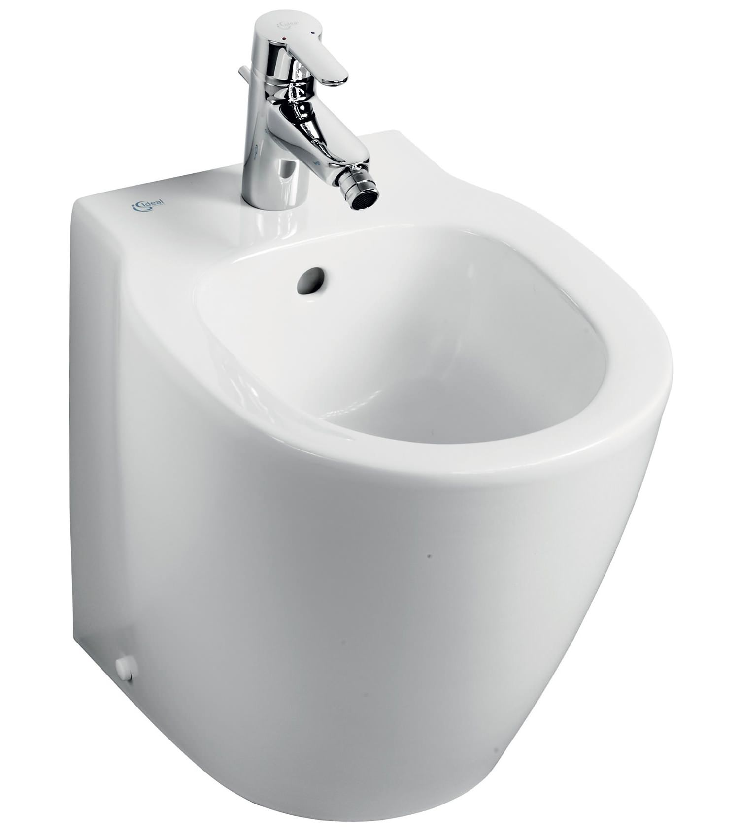 Ideal standard concept space compact back to wall bidet 480mm - Small toilets for tight spaces concept ...
