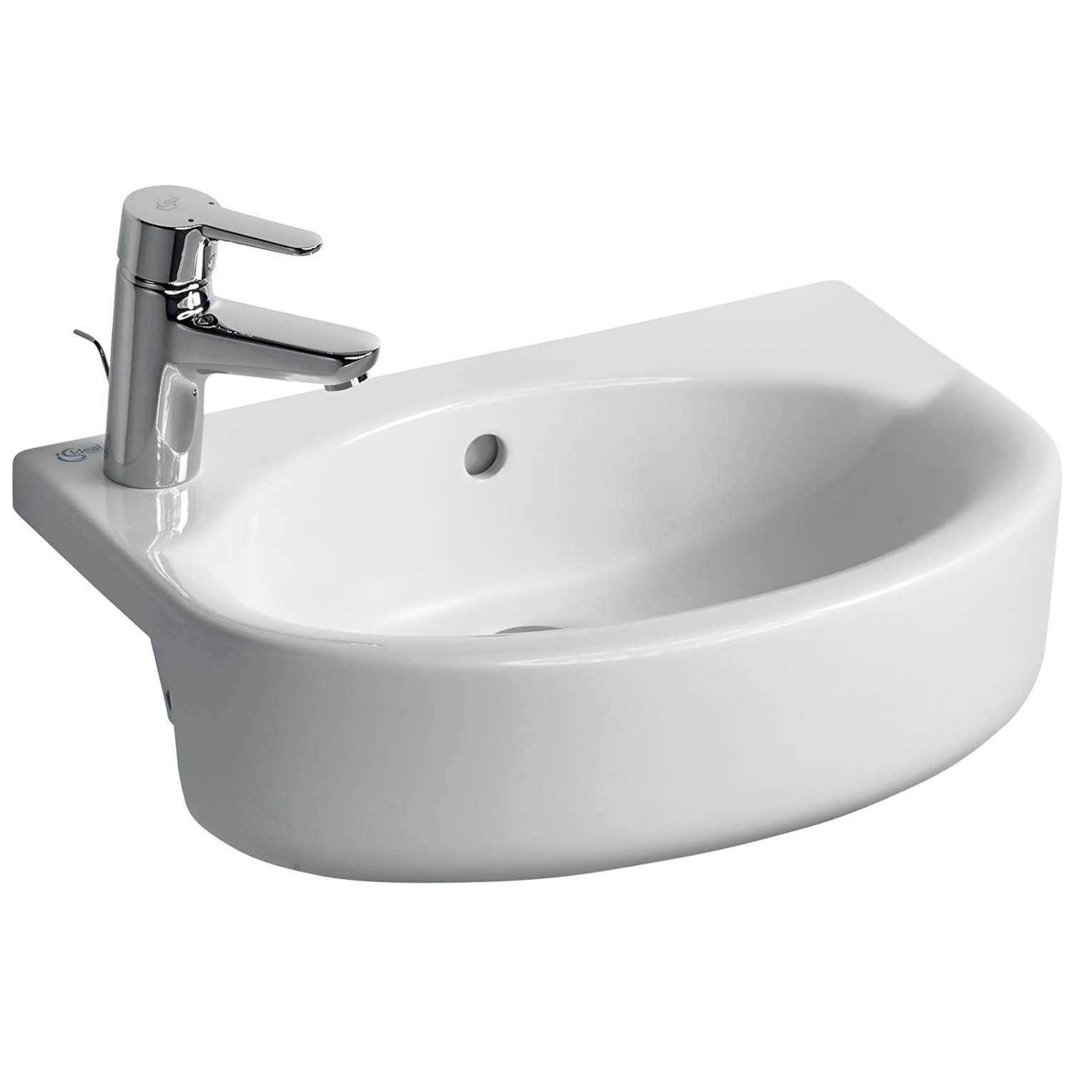 Ideal Standard Concept Space 500mm Arc Semi Countertop Basin