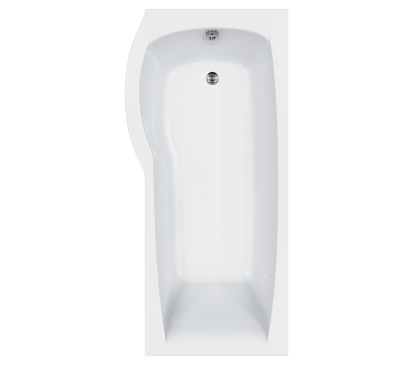 carron delta shower bath 1700 x 800mm cabdesb175palh carron delta 1600x700 800mm shower bath