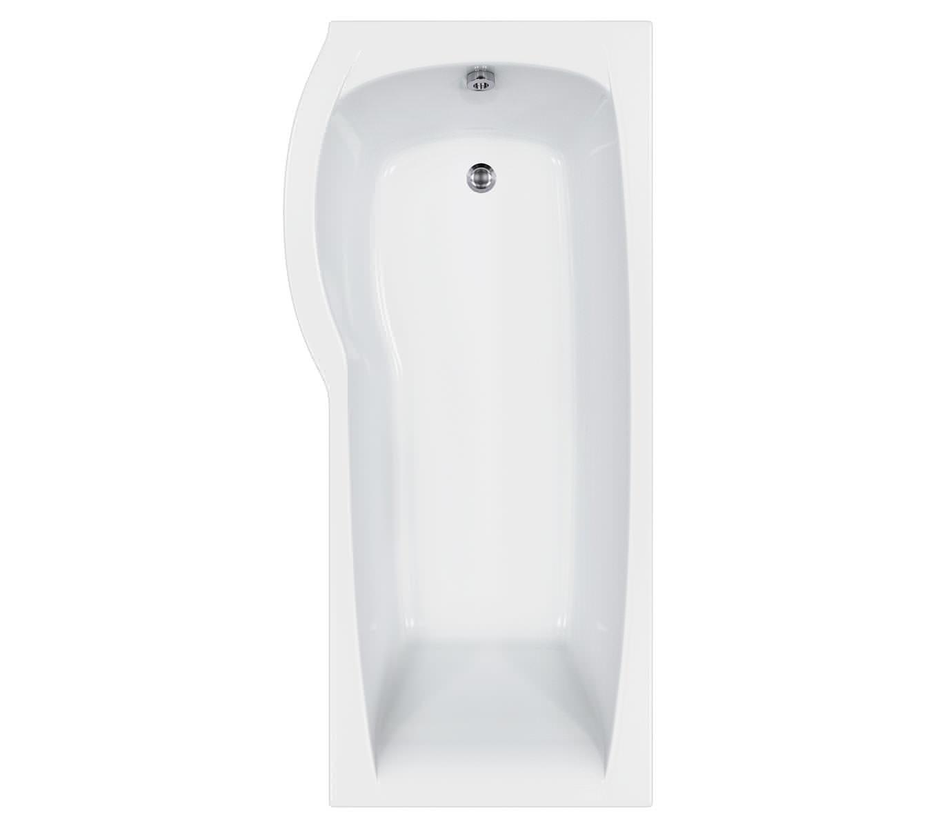 carron delta shower bath 1700 x 800mm cabdesb175palh carron delta 1700mm showerbath 5mm acrylic one stop