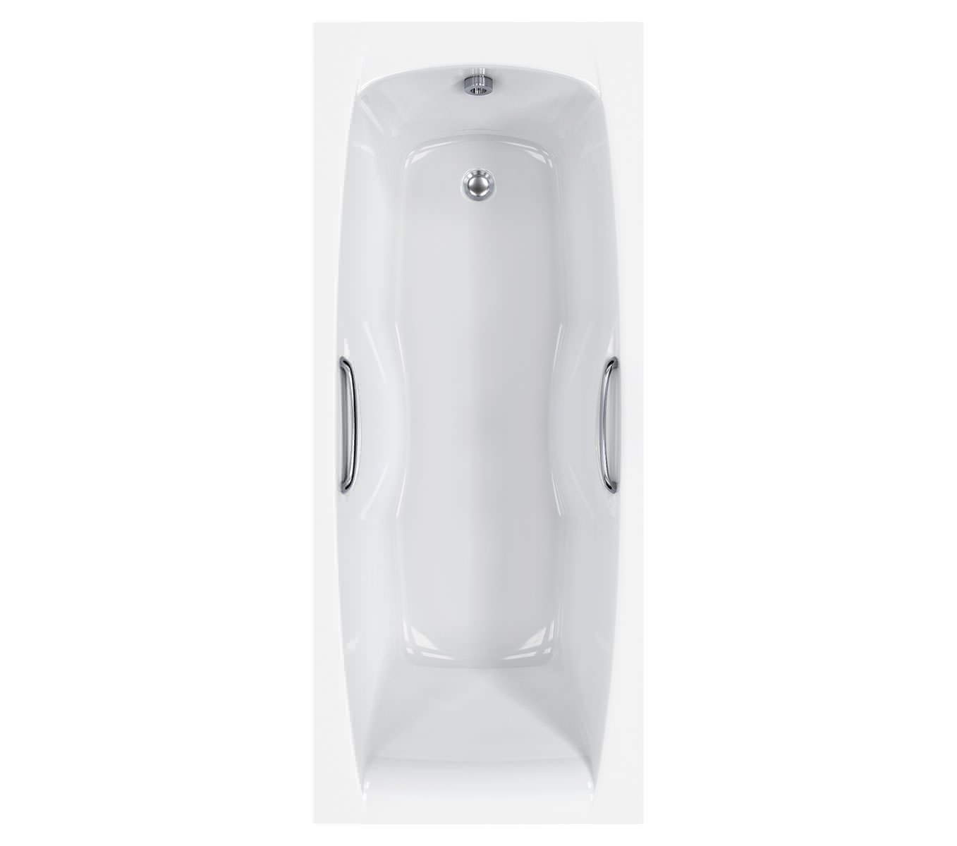 Carron Imperial 5mm Single Ended Bath 1675 X 700mm