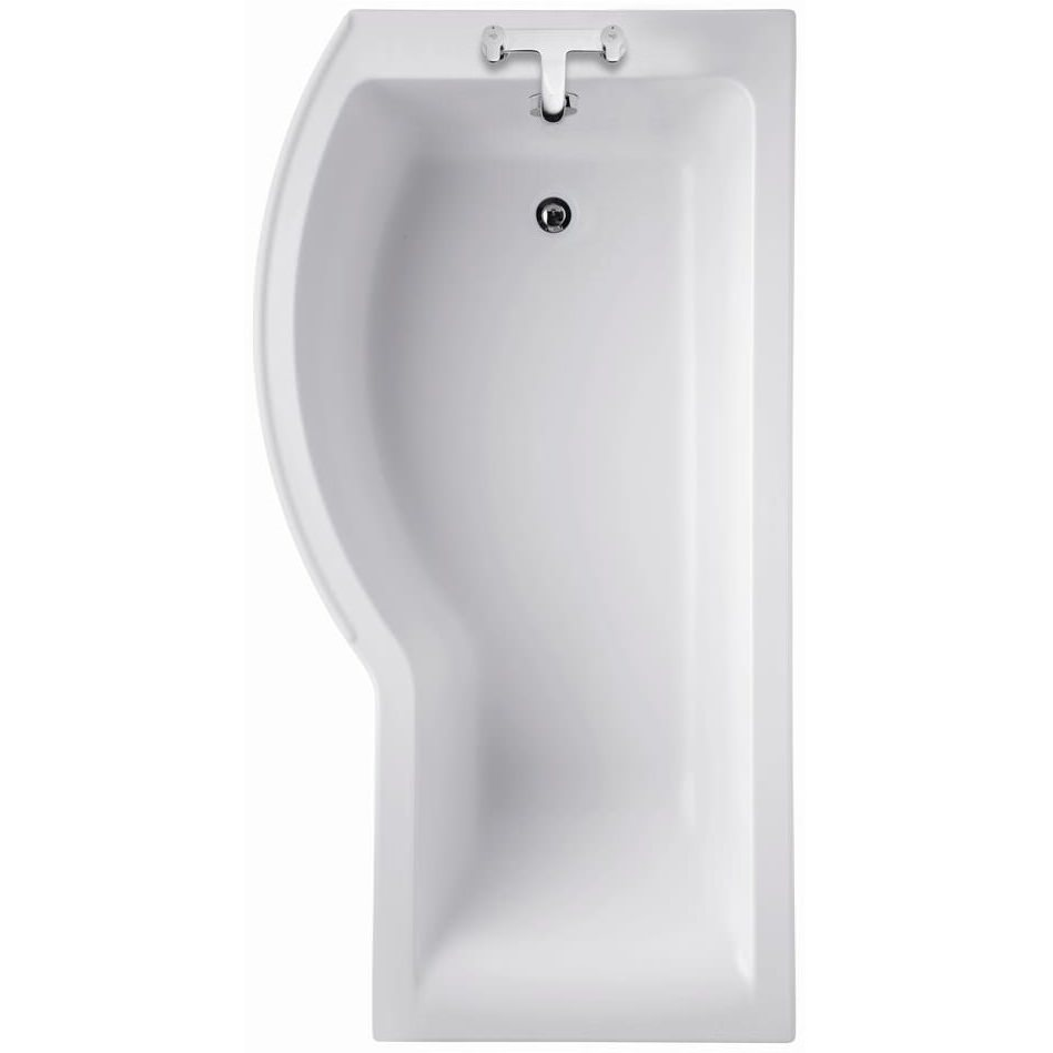 ideal standard concept 1700 x 700mm left handed shower bath