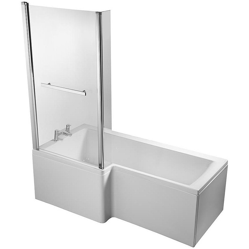 ideal standard concept idealform square 1500mm lh shower bath venice square shower bath from heritage bathrooms shower