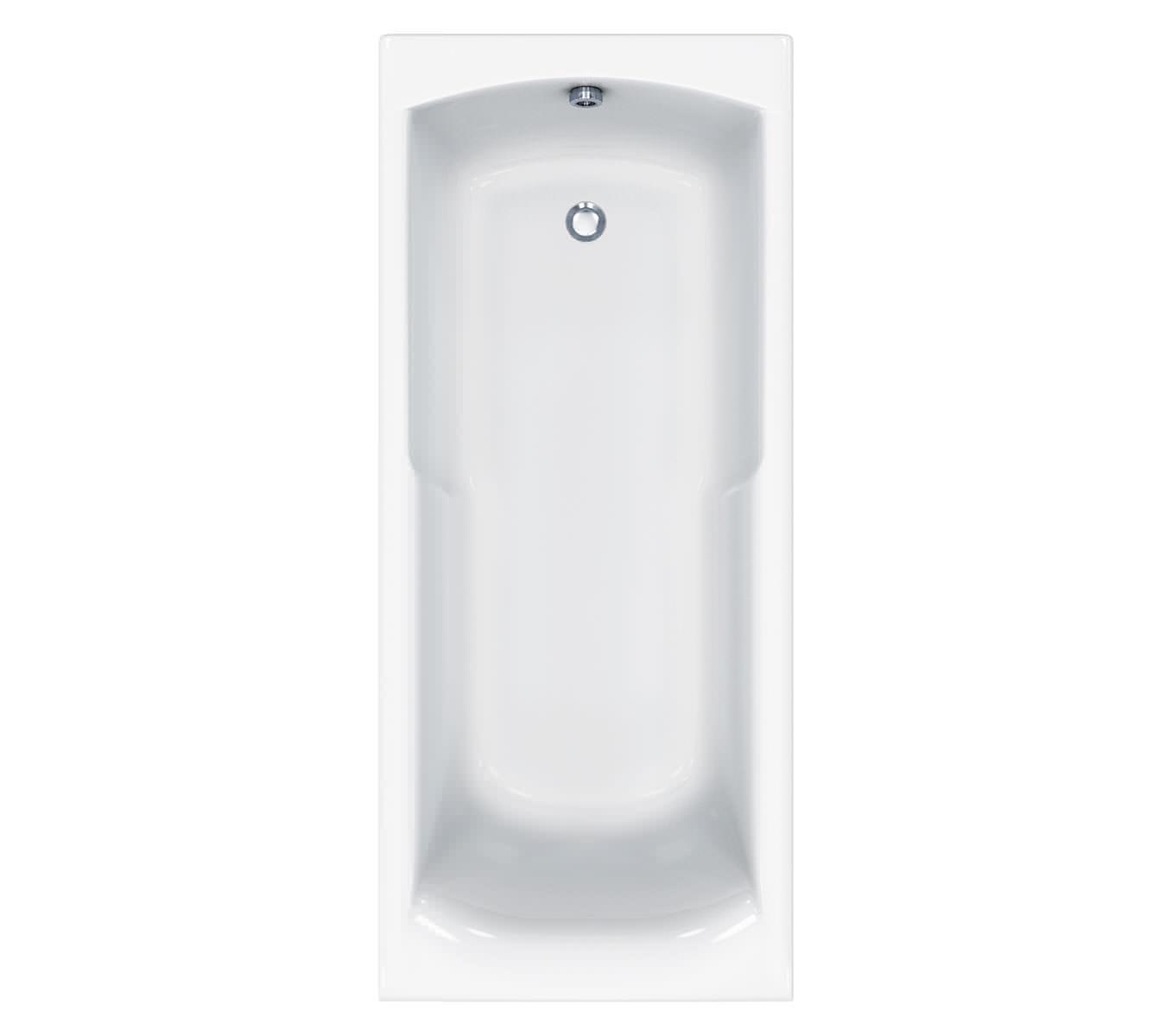 Carron Index 5mm Acrylic Shower Bath 1700 x 750mm - Q4-02118