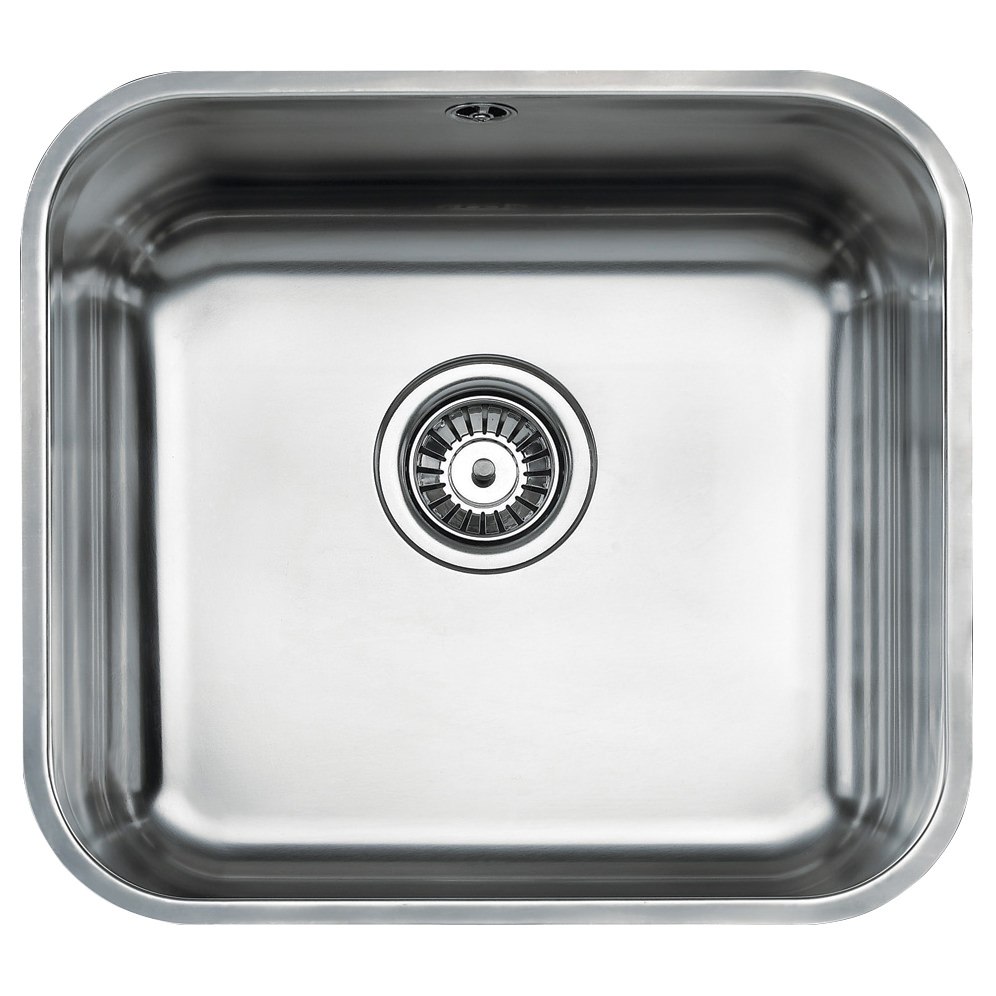 Teka Be 45 40 Stainless Steel 1 0 Bowl Undermount Sink