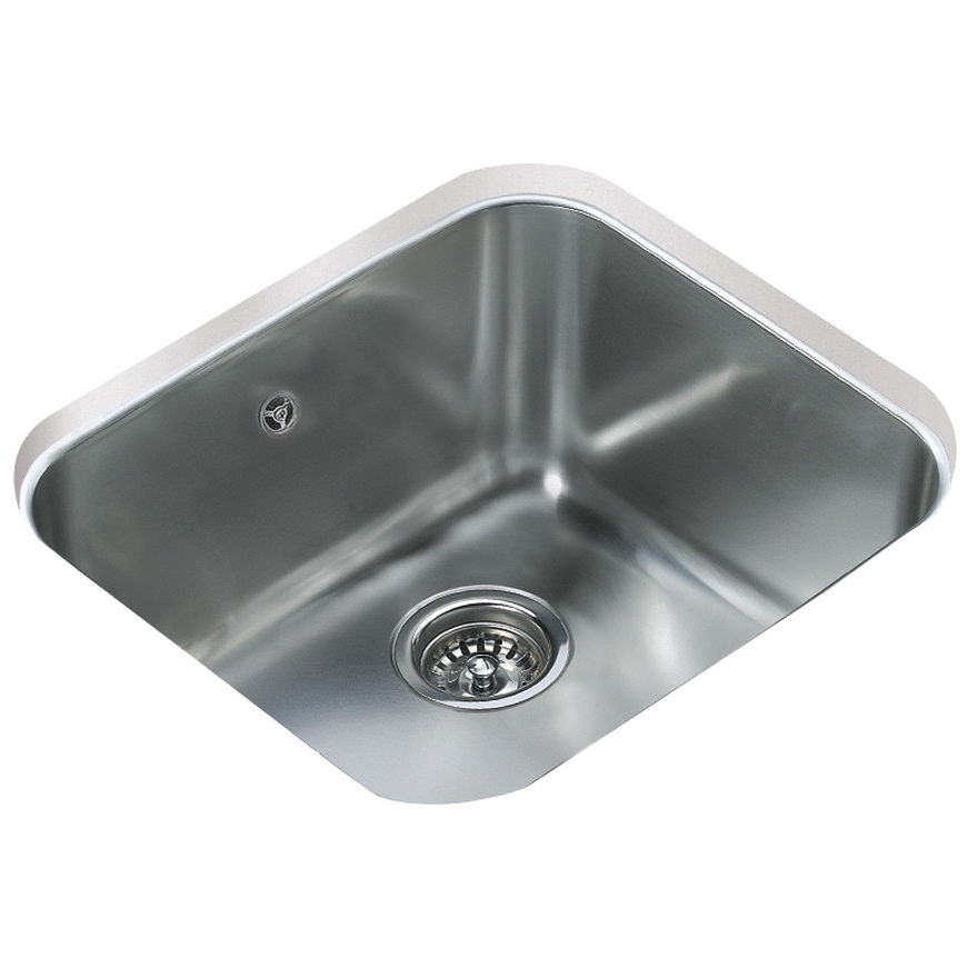 Teka Sink : Teka BE 45.40 Stainless Steel 1.0 Bowl Undermount Sink CTK2010