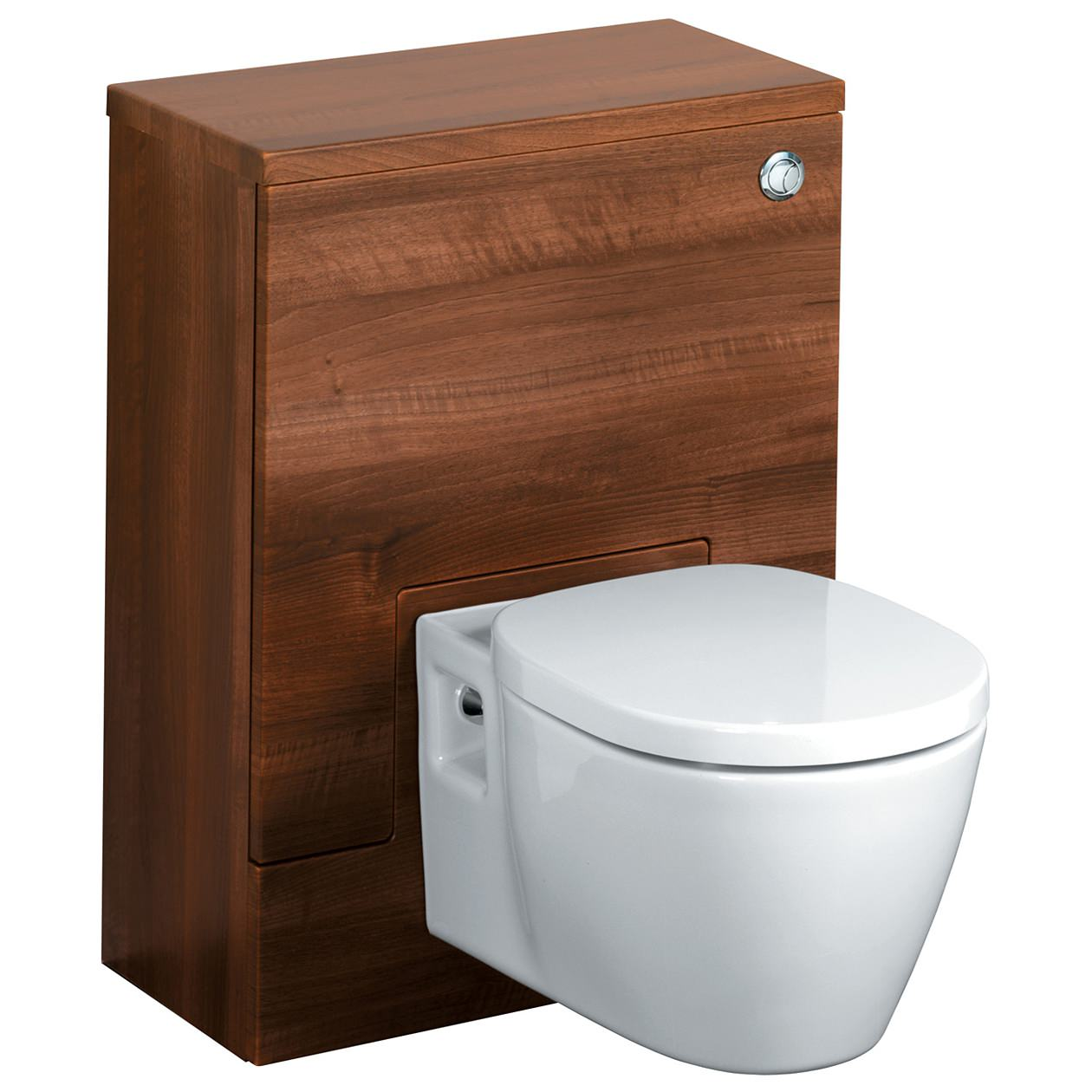 ideal standard concept 600 x 300mm wc unit american oak. Black Bedroom Furniture Sets. Home Design Ideas