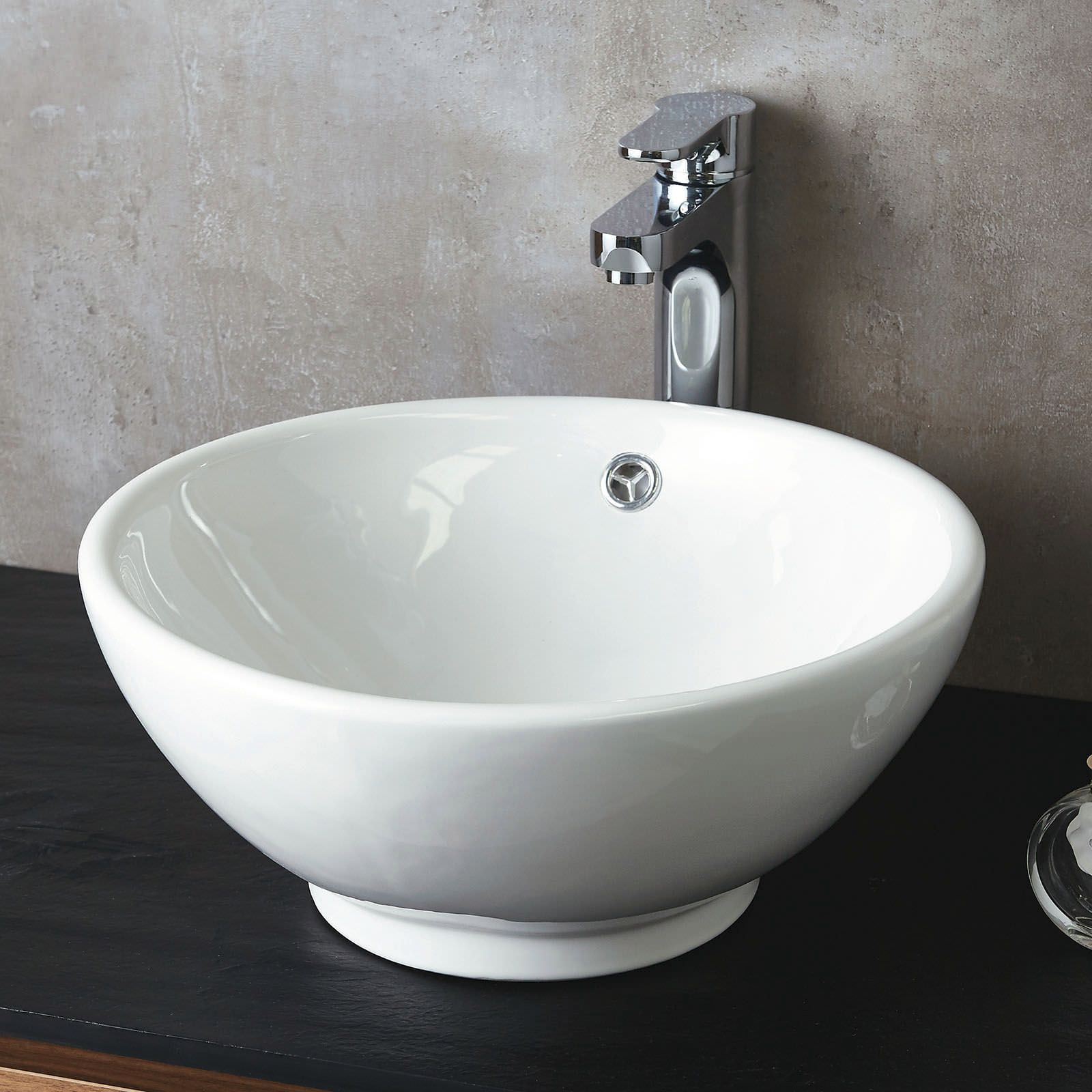 Round Counter Top: Phoenix Round 400mm Counter Top Basin