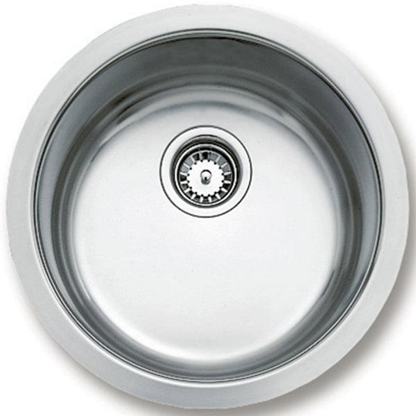 Teka BE 039 Stainless Steel 1.0 Bowl Round Undermount Sink ...