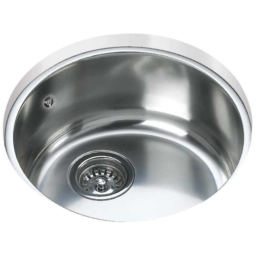 Teka Be 039 Stainless Steel 1 0 Bowl Round Undermount Sink Ctk2018