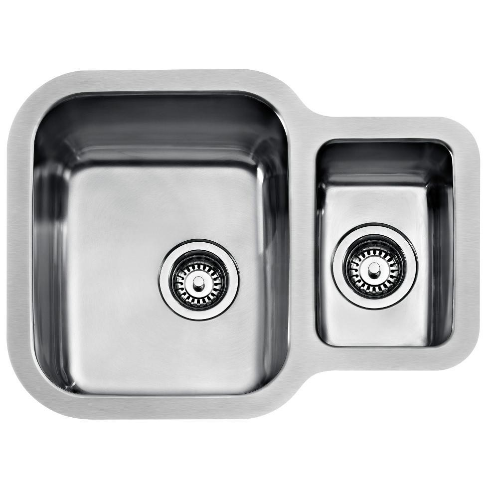 Teka Be 1 5b 625 Stainless Steel 1 5 Bowl Undermount Sink