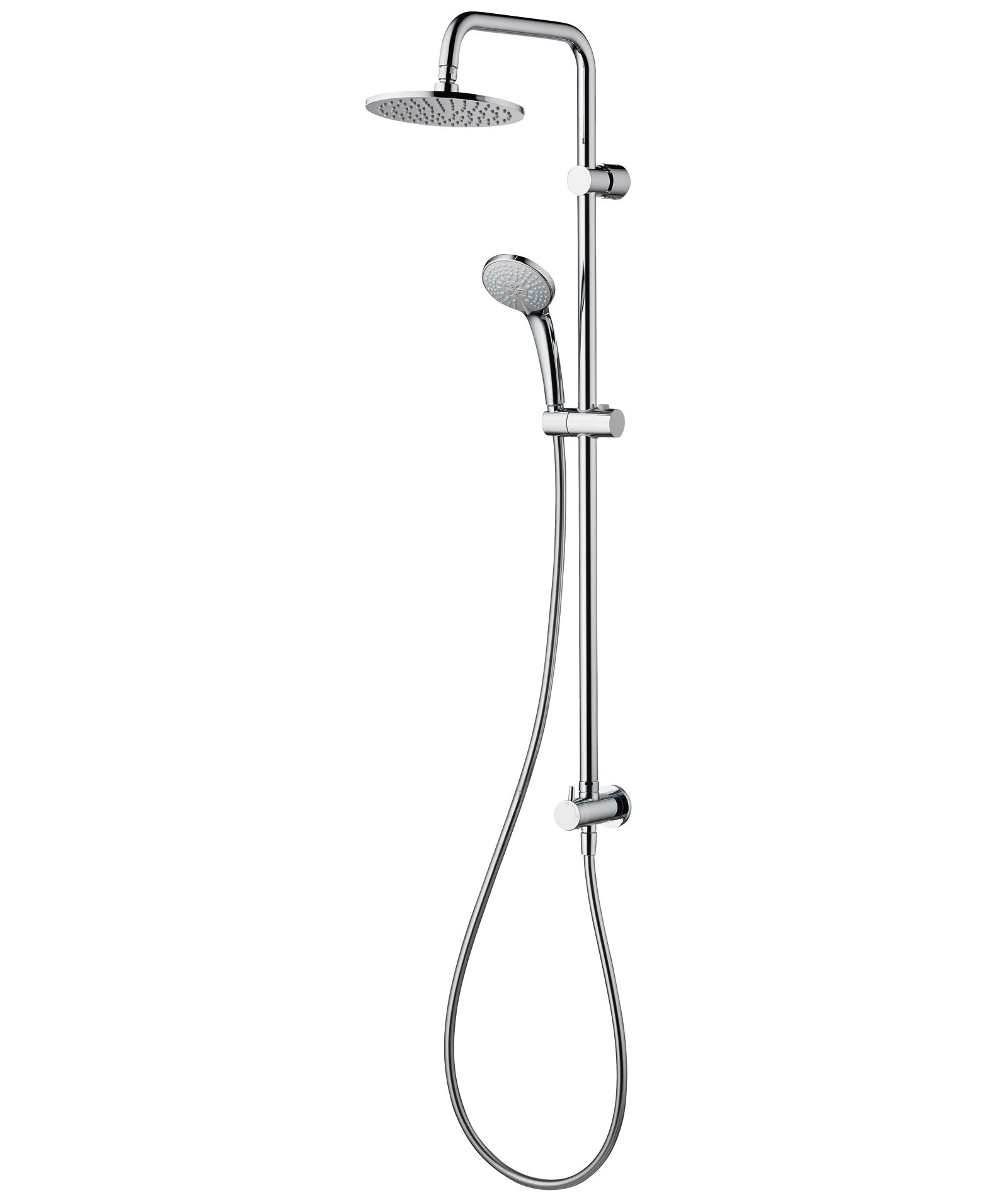 ideal standard idealrain dual shower kit for built in shower mixers a5689aa. Black Bedroom Furniture Sets. Home Design Ideas