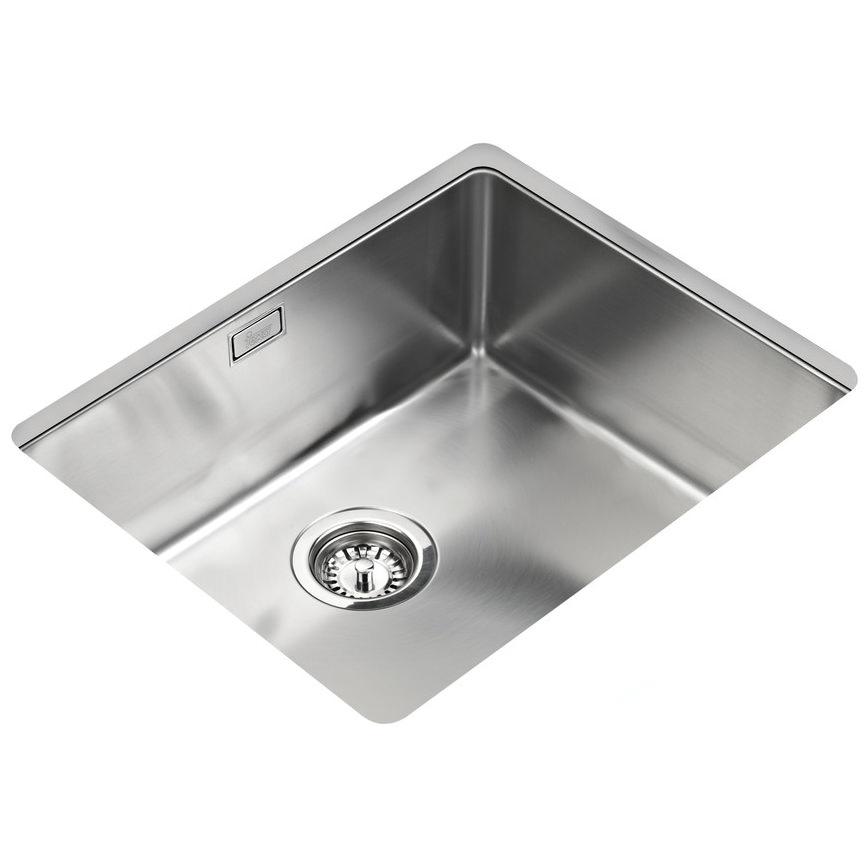 Teka R15 400 X 400mm Stainless Steel 1 0 Bowl Undermount