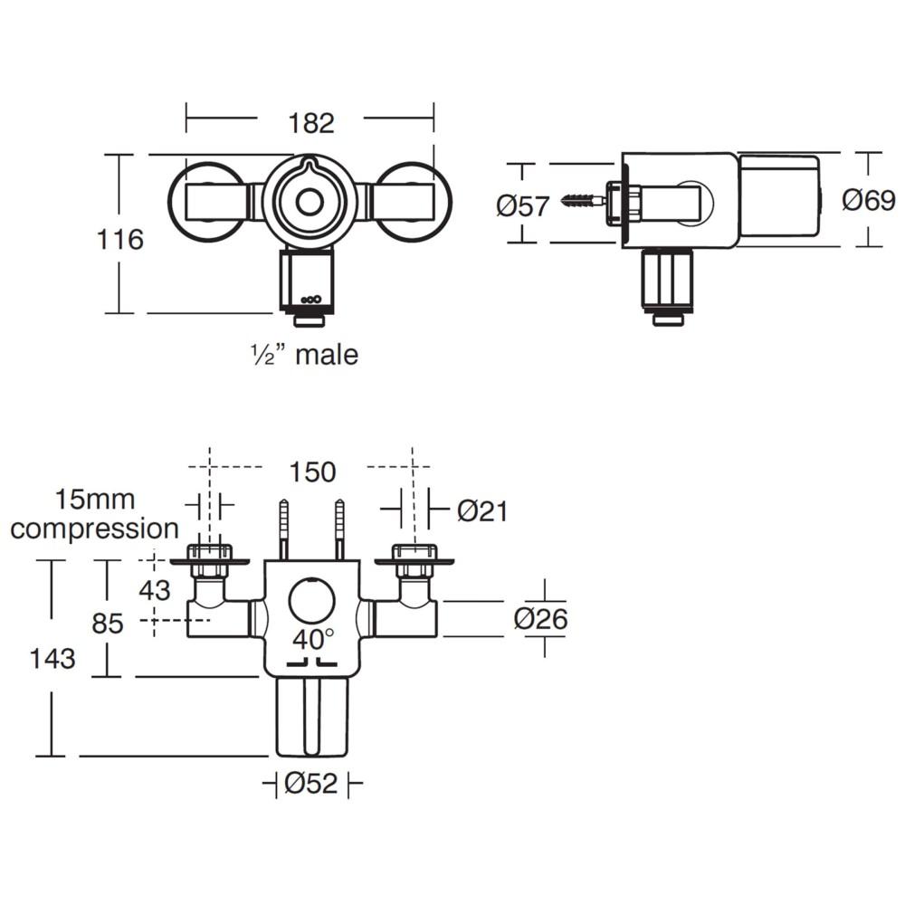 Bathroom Thermostatic Mixer Taps. Image Result For Bathroom Thermostatic Mixer Taps