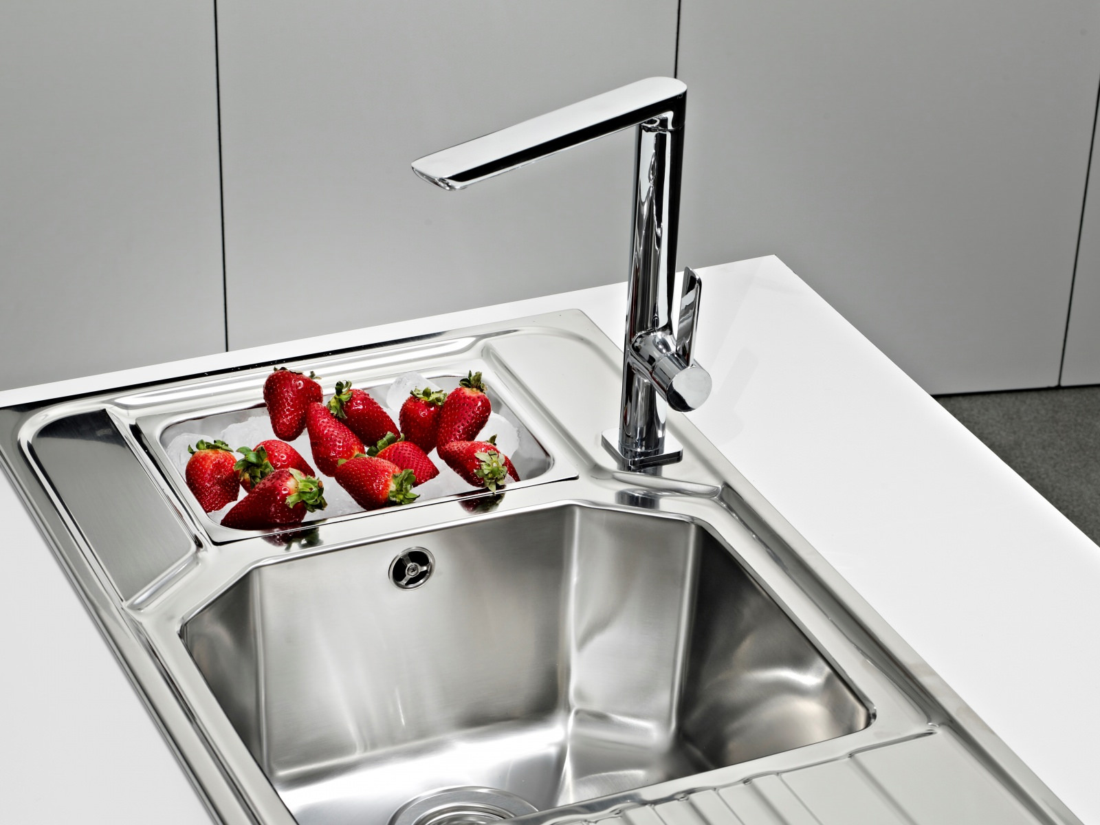 Teka Sink : Teka FO 915 Single Lever Kitchen Sink Mixer Tap BTK146