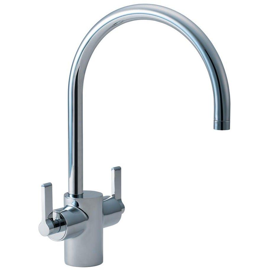 Ideal Standard Silver Dual Control Sink Mixer Tap E0084aa