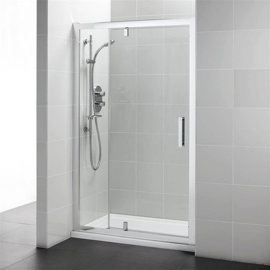 Ideal standard pivot corner shower door with inline panel 1200 for 1200mm shower door