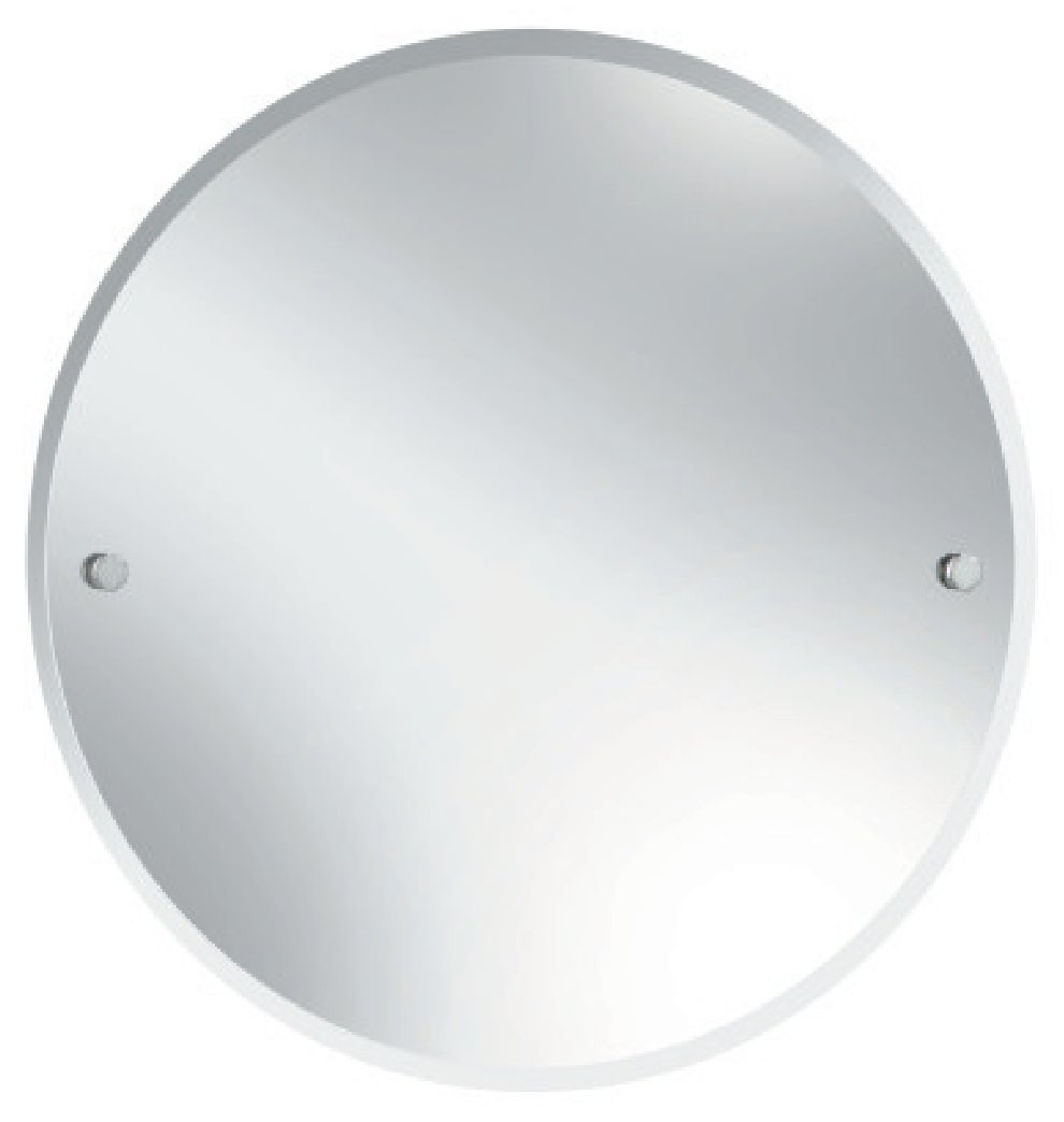 Bristan Round 610mm Mirror Chrome Comp Mrrd C