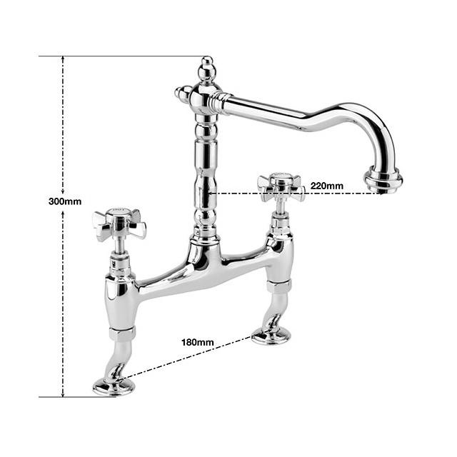 Installing Taps Kitchen Sink