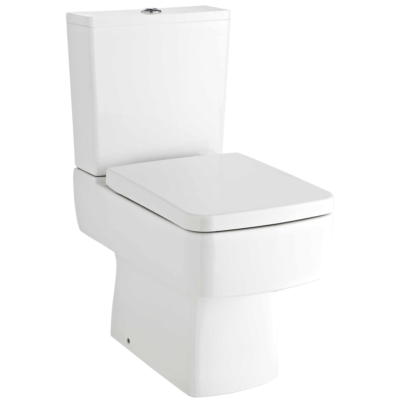 Cool Premier Bliss 615Mm Close Coupled Compact Semi Flush To Wall Pan With Cistern Inzonedesignstudio Interior Chair Design Inzonedesignstudiocom