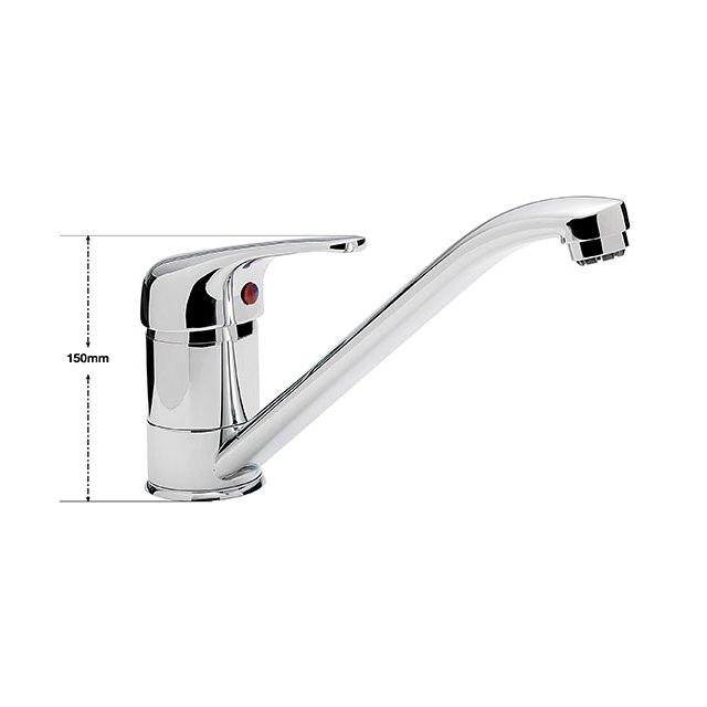 Prestige Kitchen Sink : Sagittarius Prestige Monobloc Kitchen Sink Mixer Tap PR/152/C