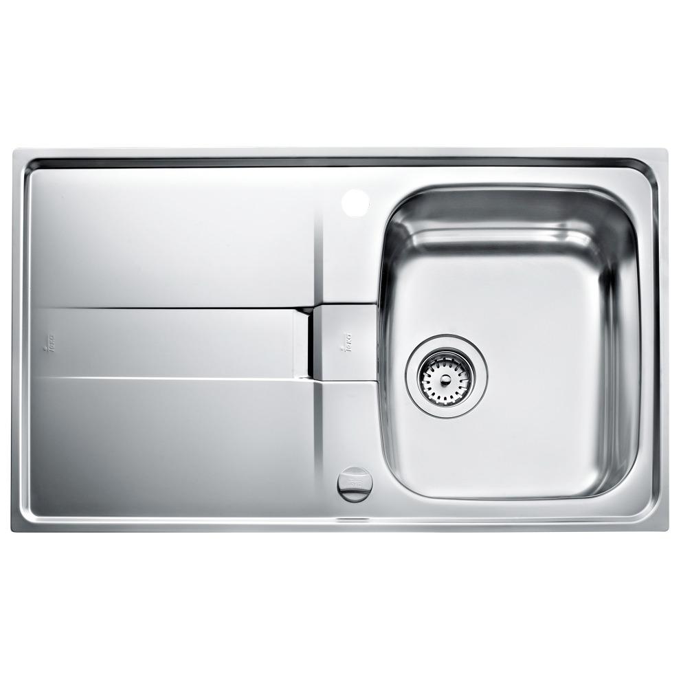 Teka Sink : Teka Stena 45 1B 1D Stainless Steel Inset Sink CTK1084