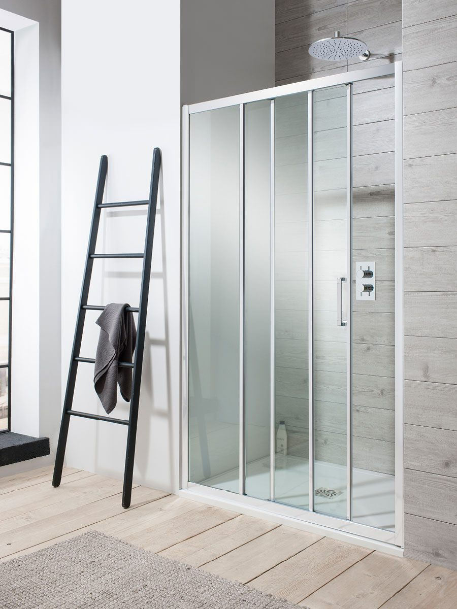 Simpsons Edge Triple Slider Shower Door 1200 X 1950mm