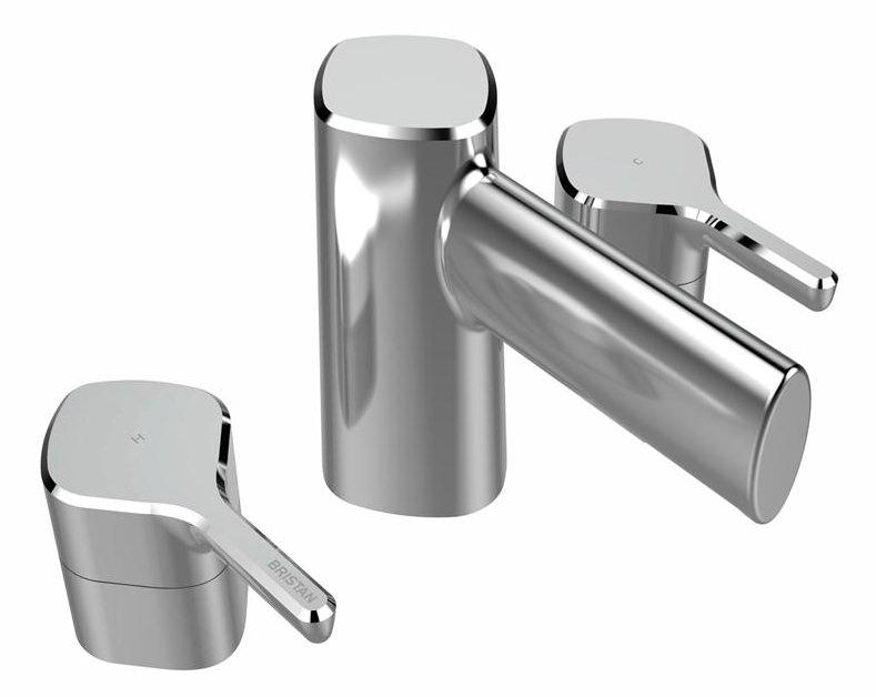 Bristan Flute 3 Hole Deck Mounted Bath Filler Tap Flt 3hbf C